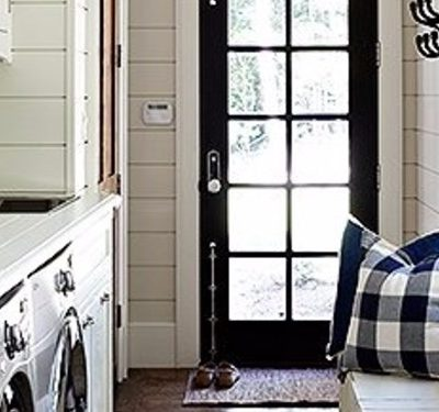 5 Laundry Rooms full of decorating ideas!