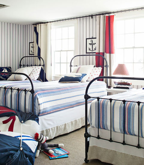 5 Bedrooms With Red Accents Intentionaldesigns Com