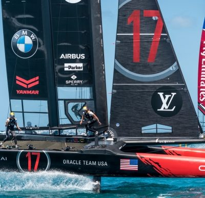 Friday's Escape … 35th America's Cup