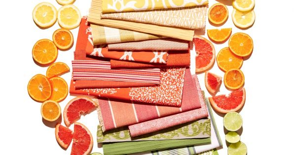 citrus color decorating