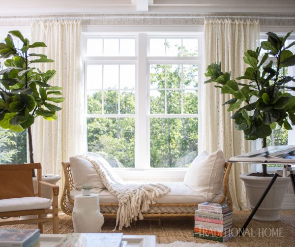Boho Design Hamptons Style, 2016 Hampton Designer Showhouse, Boho Living Room Vignette