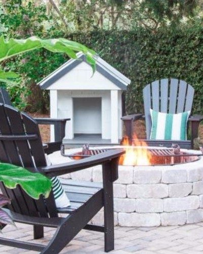 Get inspired with these 4 completely different outdoor seating areas!