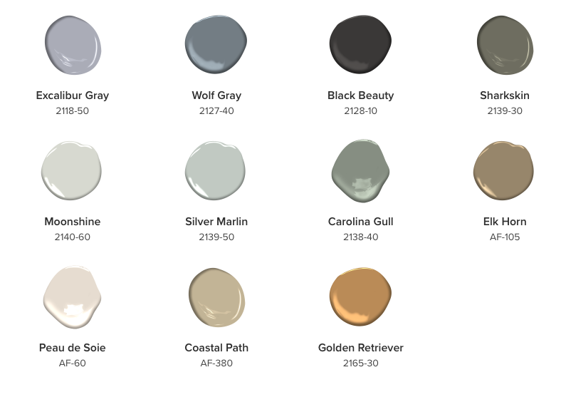 Benjamin moore color trends 2018 1 for Benjamin moore color of the year 2013