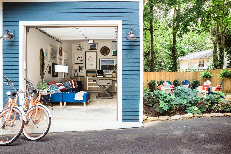 HGTV 2017 Urban Oasis Garage, She Shed