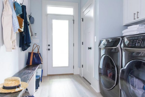 HGTV Urban Oasis Laundry Room Paint Colors