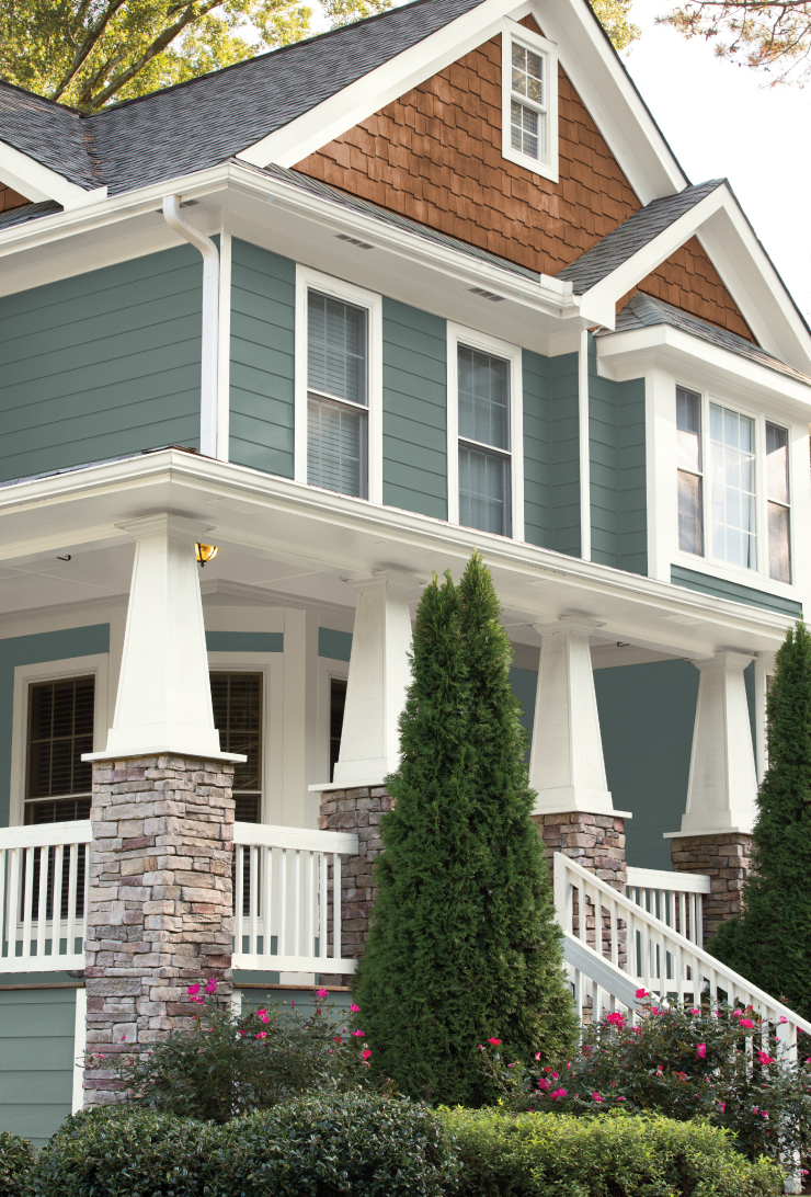 Behr 2018 Color of the Year, In the Moment, Exterior Home Color