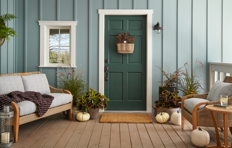 Behr 2018 Paint Color of the Year, In The Moment, Front Porch