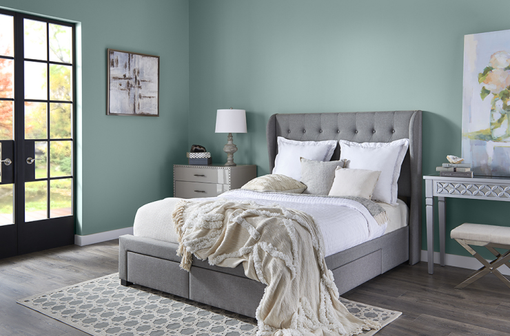Behr 2018 Color of the Year, In the Moment, Bedroom
