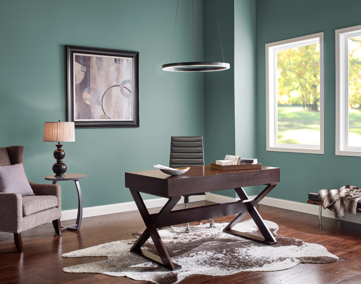 Behr Color of the Year 2018, In the Moment, Home Office