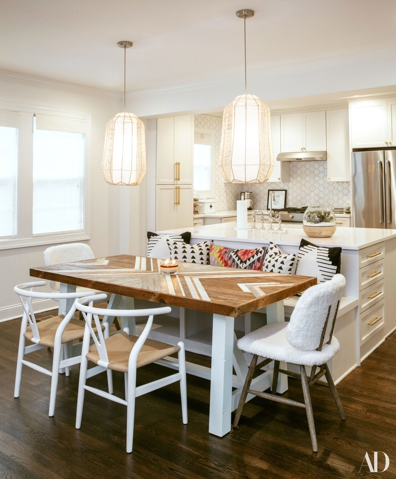 decorating style, all white kitchen