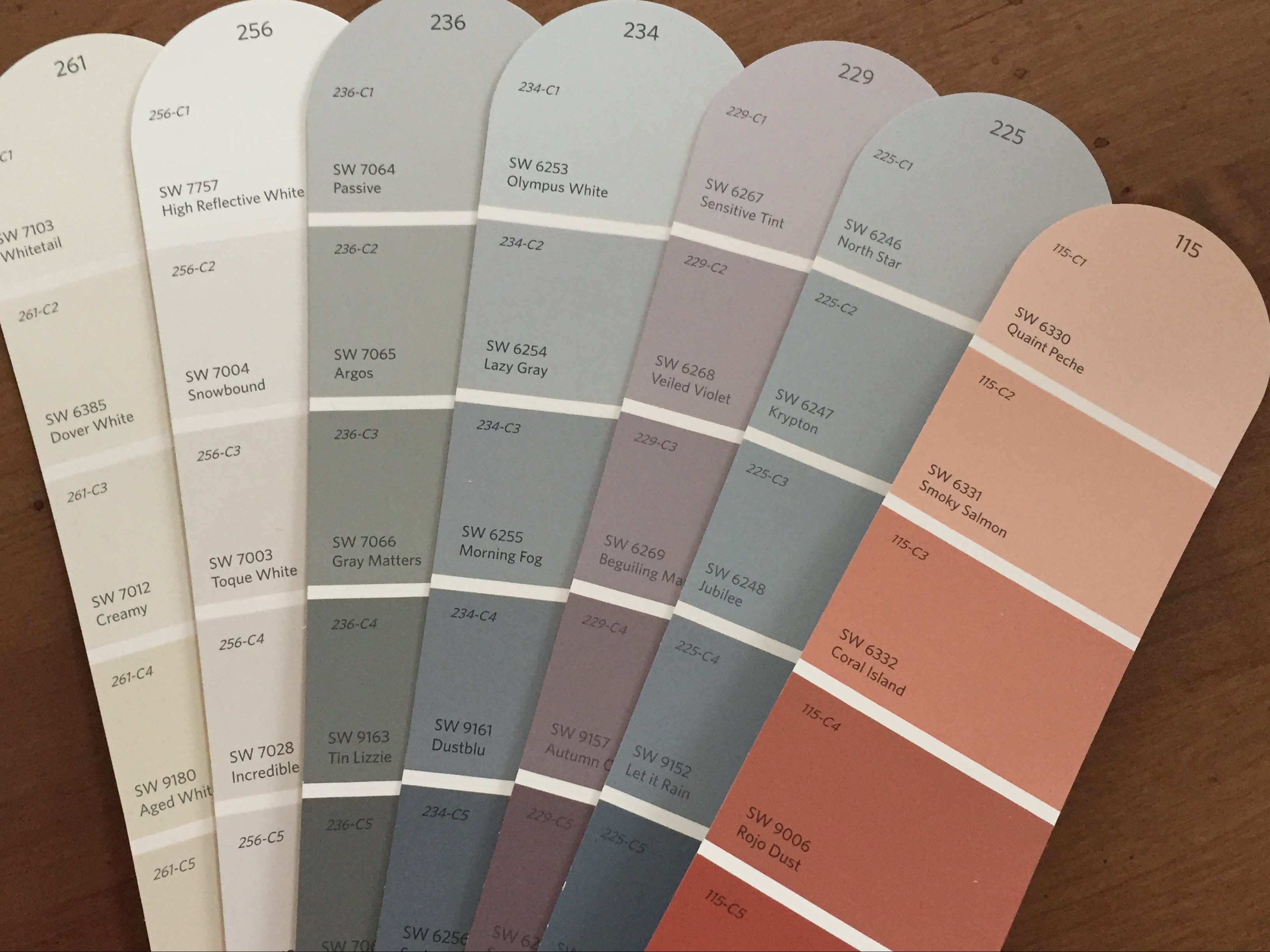 Exceptionnel 2018 Paint Colors