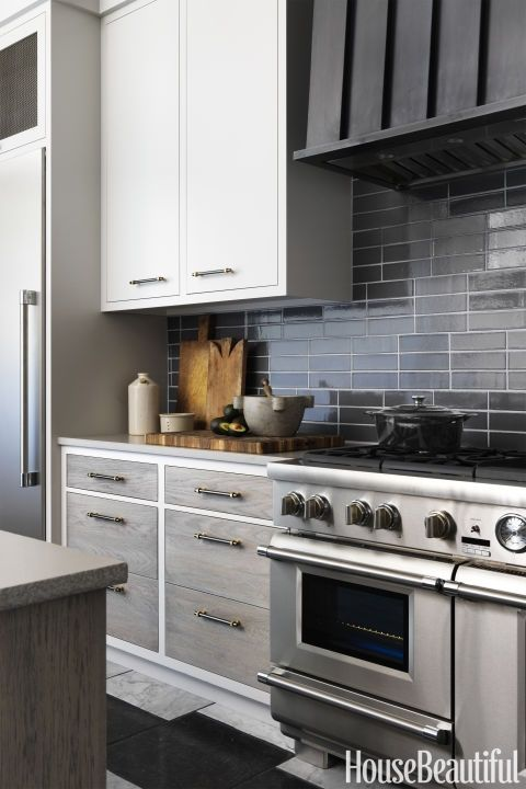 2018 Kitchen Trend Two Toned Kitchen Cabinets