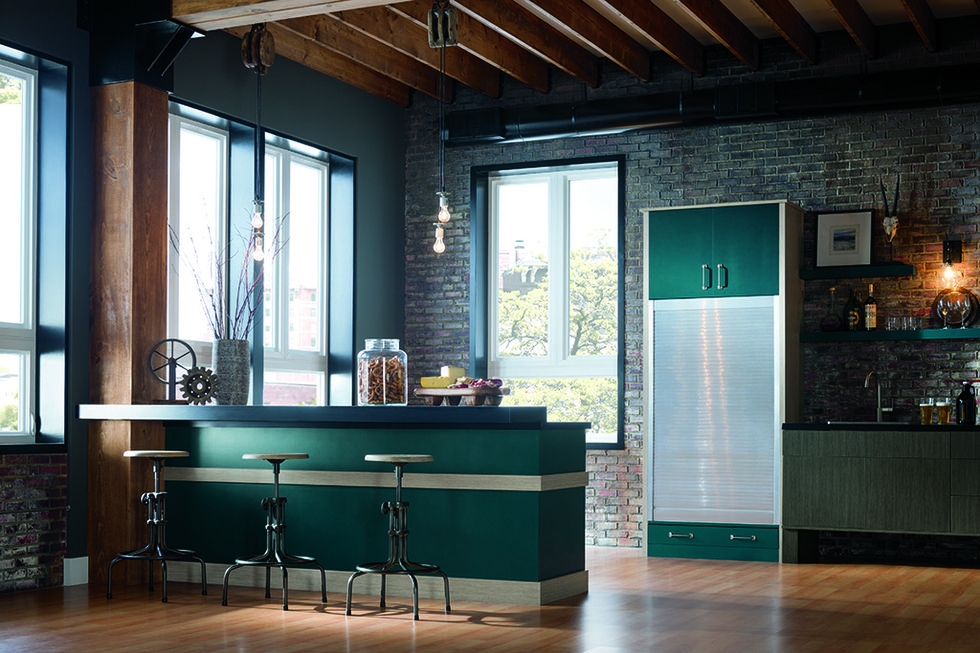 2018 Kitchen Trends Blue And Green Cabinets