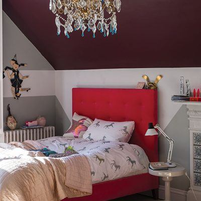 Red and Gray home decor, perfect pairing