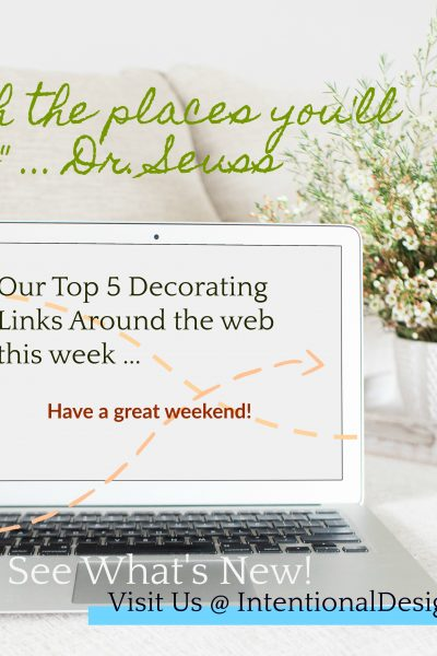 Our Weekly Top 5 Decorating Links no.1