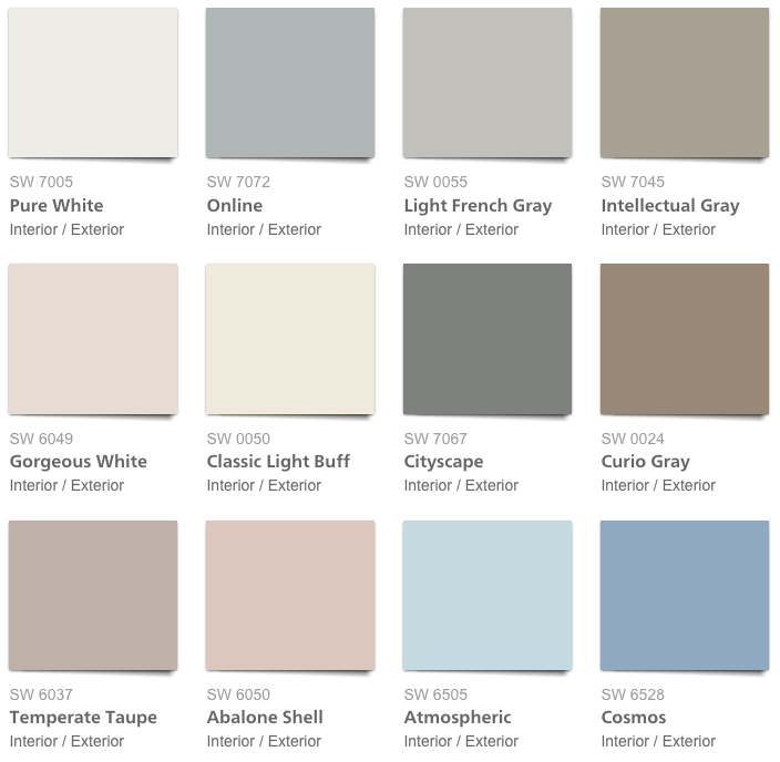 paint, 2018, Pottery Barn Spring Summer 2018 Paint color