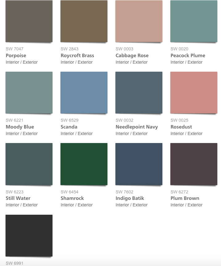 paint, Pottery Barn Spring Summer 2018 Paint color