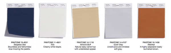 Pantone, Pantone's Top 10 Colors