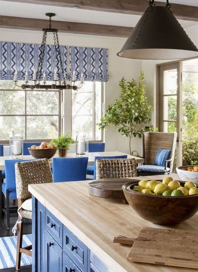 Perfect Pairing: Kitchen Window + Roman Shade