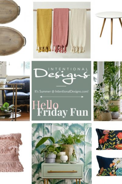 July 13, Friday's Fun Decorating Links